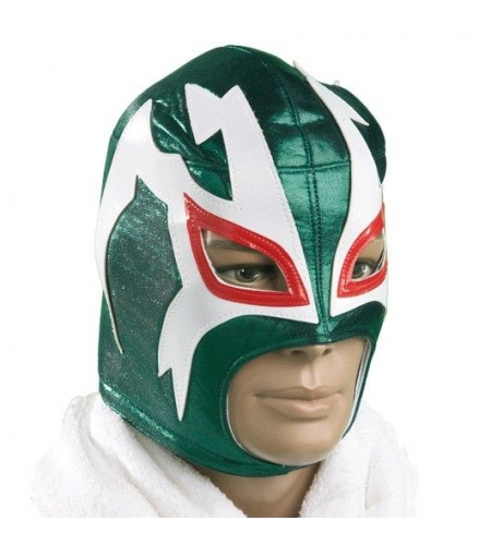 Wrestling green mask