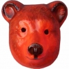 Masque ours plastique