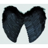 Angel wings marabout black