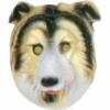 Careta perro collie