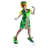 Clown ladies polka dot costume