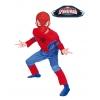 Disfraz spiderman musculoso infantil original