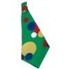 Clown erwachsene kravatte