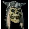 Careta calavera vikingo con casco y pelo