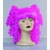 Manga pink nina wig