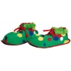 Clown kids fabric shoes