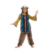 Princess jasmin turquoise kids costume