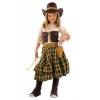 Disfraz bandida vaquera infantil