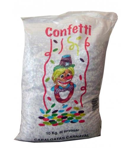 Sac confettis 10 kg.