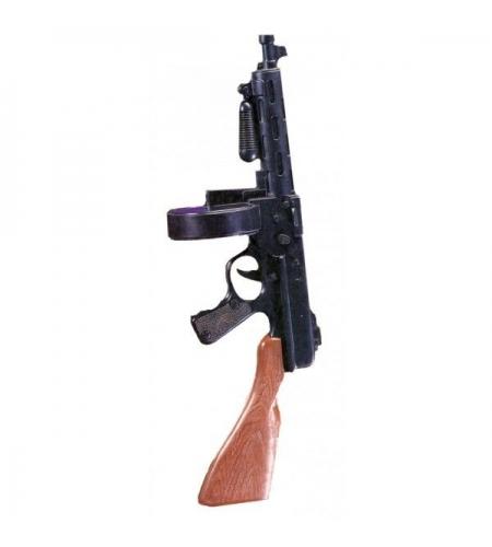Submachine gun (smg) gangster