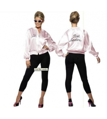 Pink lady jacket with