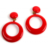 Flamenco earrings big size