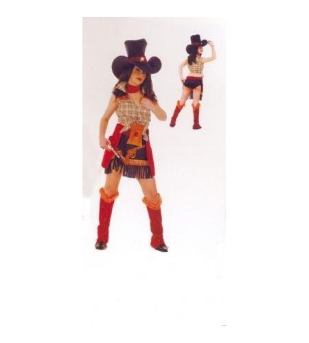 Cowgirl ladies costume