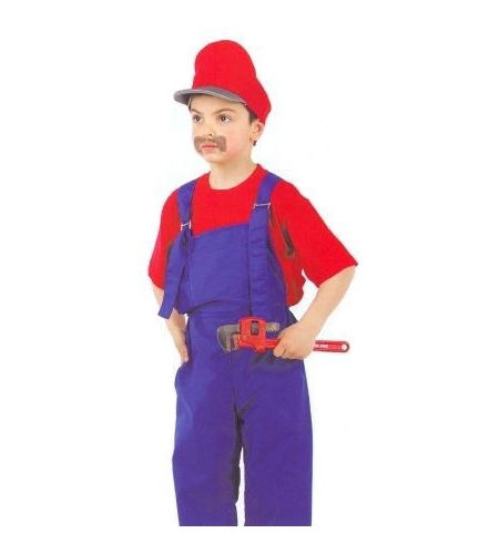 Plumber kids costume