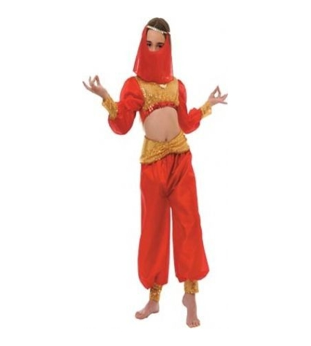 Arabian dancer kids costume