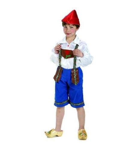 Dutch/tulip boy costume