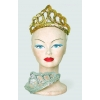 Diadem with sequins gold or silver