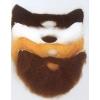 Bart und schnurrbart mittelgroße