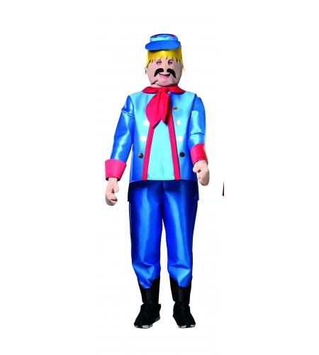 Union civil war toy soldier adult costume