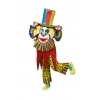Clown smile mascot costume