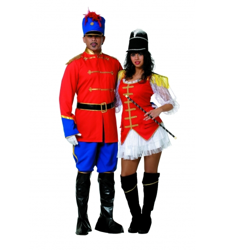 Toy soldier man costume