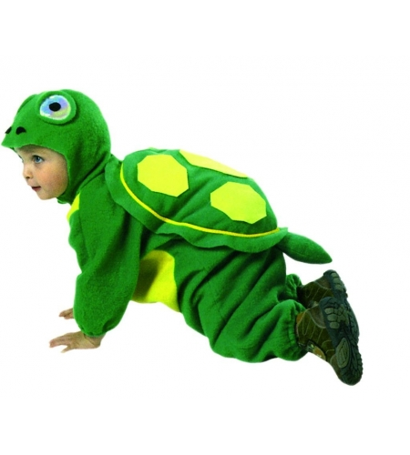 Tortoise mascot infant costum