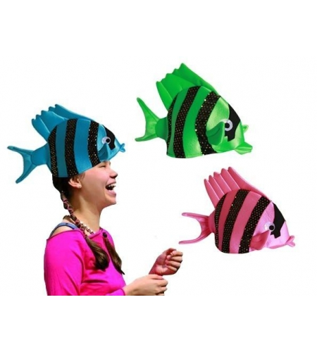 Fish hat in several colours