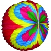 Balão de papel colorido e redondo 30 cm.