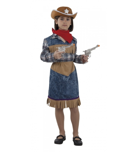 Girl sheriff costume
