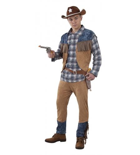 DISFRAZ SHERIFF HOMBRE