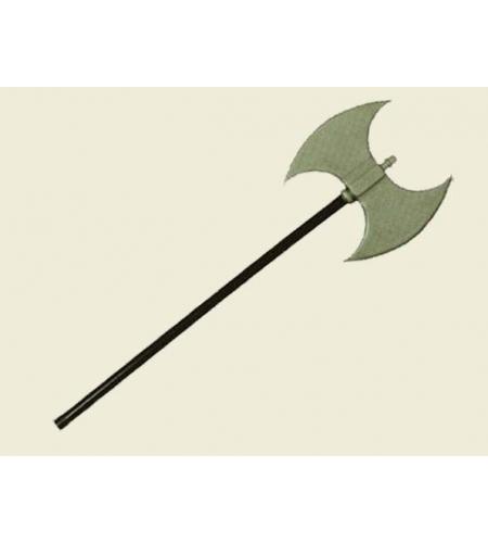 Barbarian double headed plastic axe