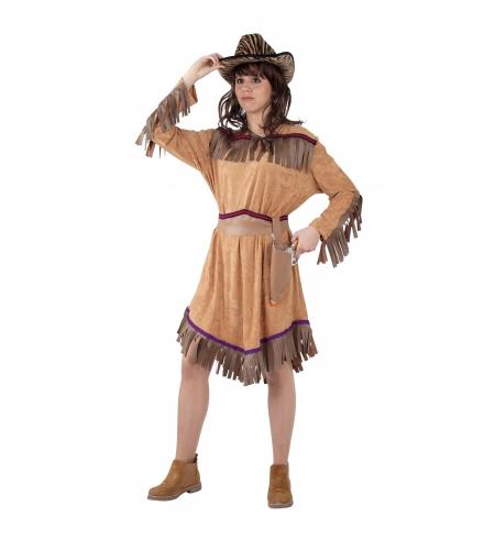 Disfraz de vaquera del oeste