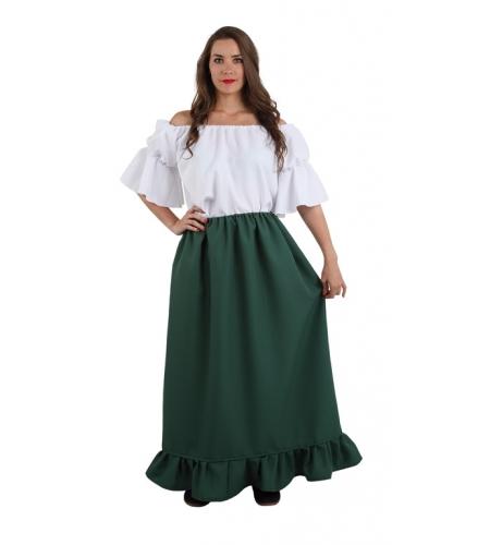 Falda medieval mujer