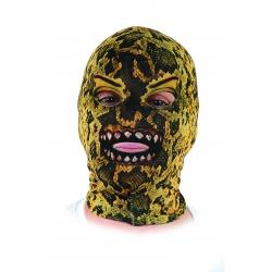 Mascara licra serpiente