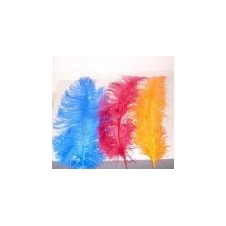 Floos feather. 3 units bag.