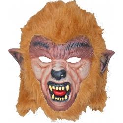 Mascara latex hombre lobo pelo