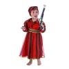 Pirate outfit bebÉ listras vermelhas