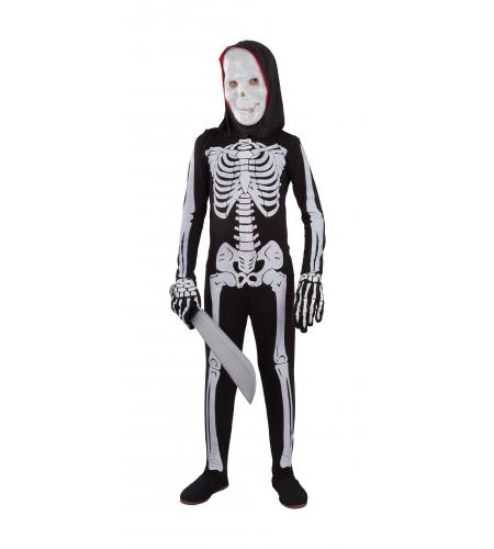 Malla de licra esqueleto inf (no incluye guantes)