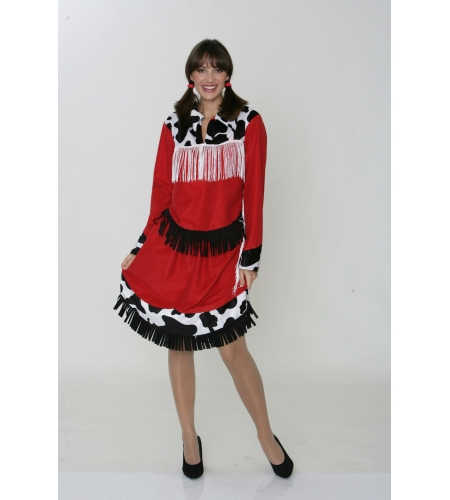 Rodeo cowgirl ladies costume