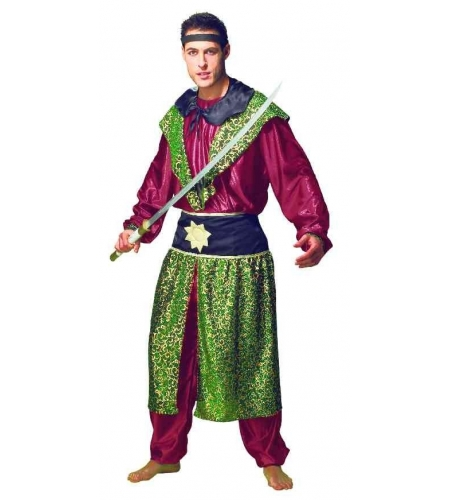 Disfraz samurai adulto