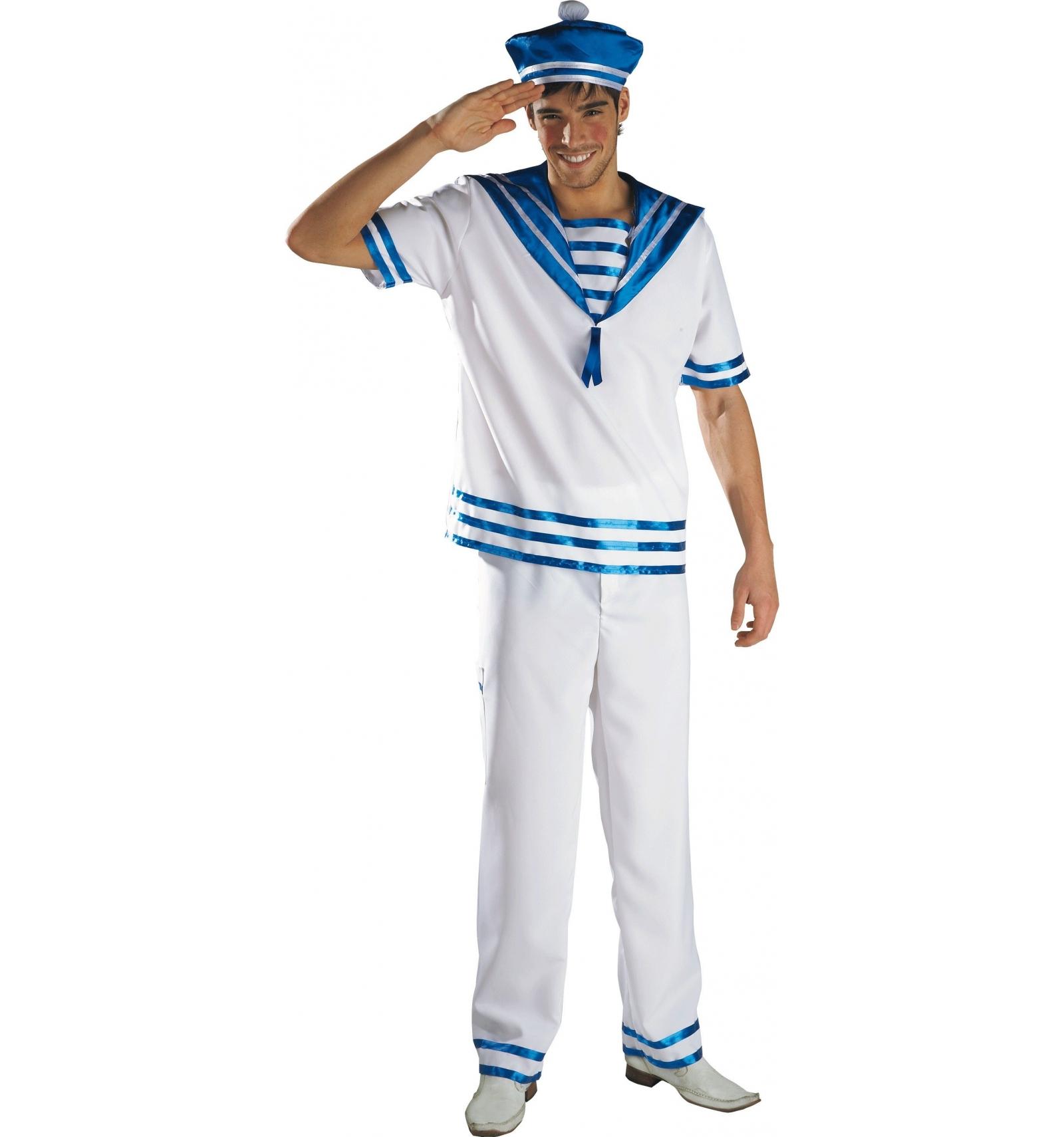 Disfraz marinero adulto importaci n tienda de disfraces - Disfraz de marinero casero ...