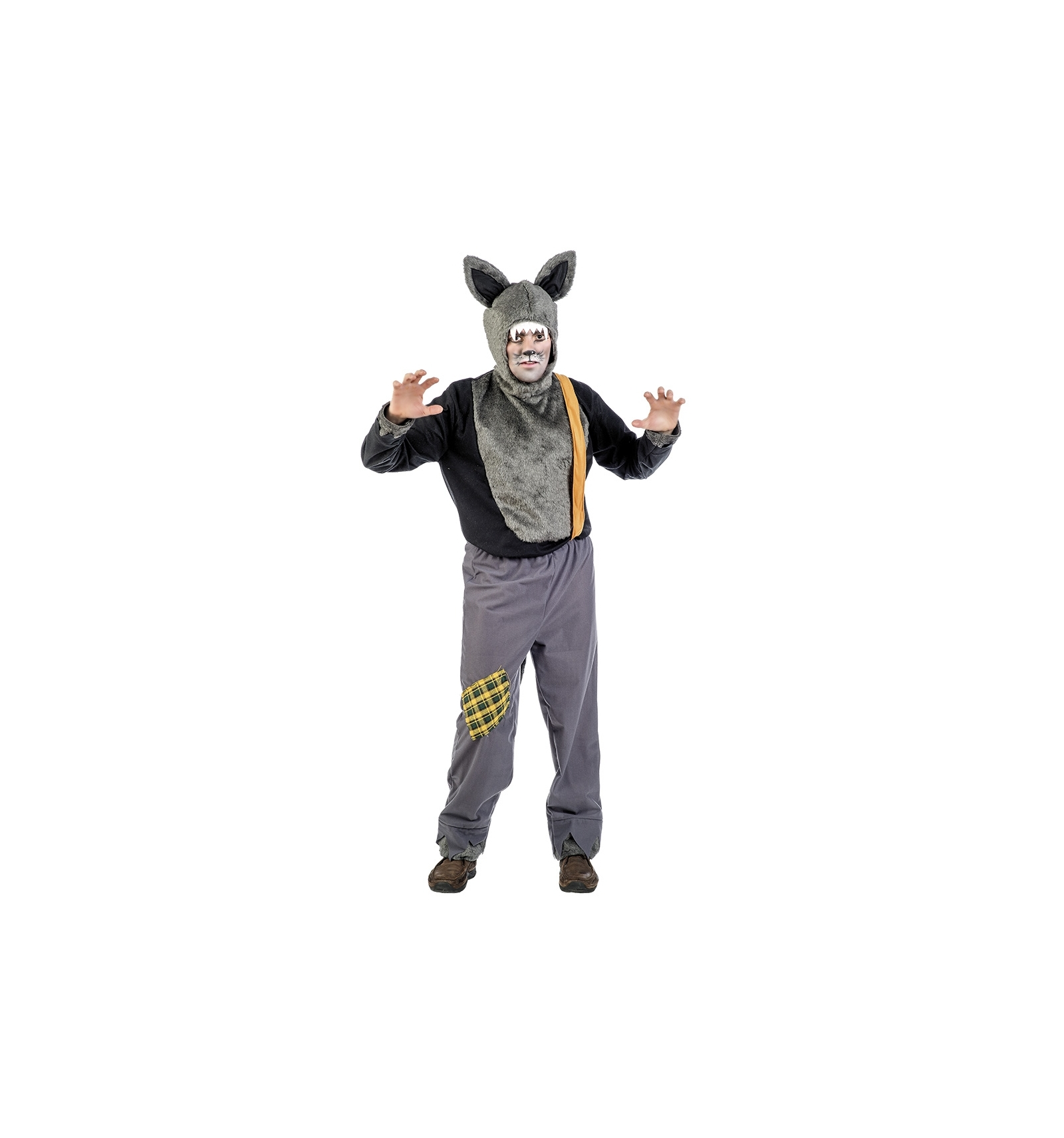 Lobo feroz tienda de disfraces online for Disfraz de lobo feroz