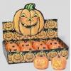 Pumpkin halloween horror item with flashing light