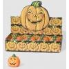 Bougie citrouille halloween terreur 10 cm.