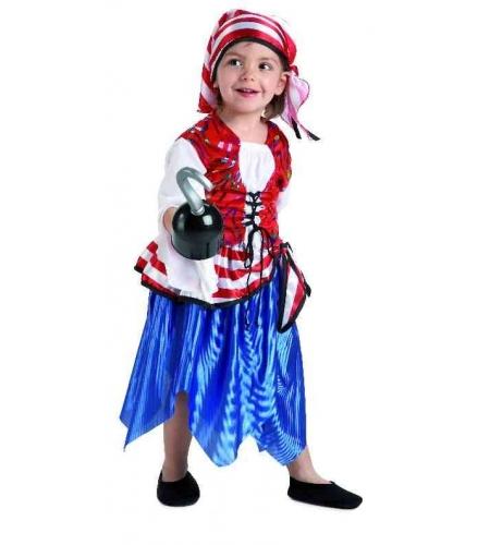 Buccaneer infant girl costume