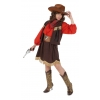 Cowgirl deluxe kids costume