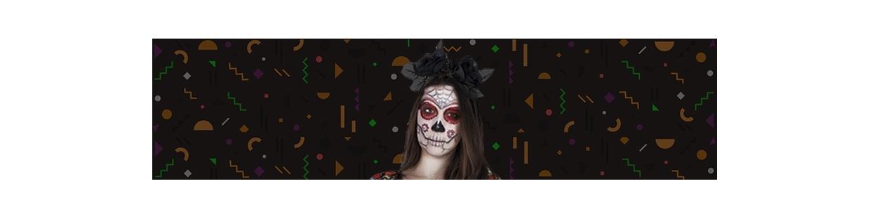 Halloween Makeup and Decoration